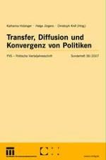 Transfer, Diffusion und Konvergenz: Konzepte und Kausalmechanismen