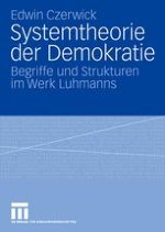 Einleitung: Niklas Luhmann und die Theorie der Demokratie