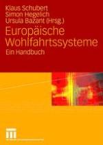 Europäische Wohlfahrtssysteme: Stand der Forschung — theoretisch-methodische überlegungen