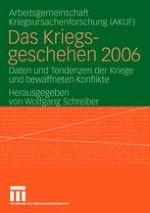 Daten und Tendenzen des Kriegsgeschehens 2006