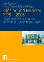Die Regierungsmitglieder der rot-grünen Bundesregierungen: Sozialstruktur und Karriereverläufe