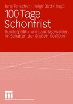 100 Tage Schonfrist nach der Bundestagswahl 2005? Mythos und Zwischenbilanz