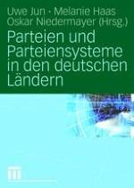 Die Parteien und Parteiensysteme der Bundesländer — Eine Einführung