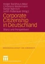 Corporate Citizenship in Deutschland.Die überraschende Konjunktur einer verspäteten Debatte