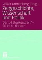 Historische Existenz und politische Ordnung. Zum Totalitarismusverständnis von Ernst Nolte
