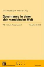 """Governance — auf der Suche nach Konturen eines """"anerkannt uneindeutigen Begriffs"""""""