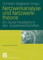 Netzwerkanalyse und Netzwerktheorie. Einige Anmerkungen zu einem neuen Paradigma