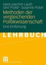 Einführung in die Methodik der vergleichenden Politikwissenschaft