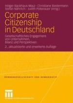 Corporate Citizenship in Deutschland. Die überraschende Konjunktur einer verspäteten Debatte