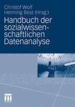 Einführung: Sozialwissenschaftliche Datenanalyse