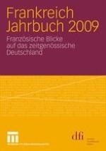 Neuere französische Deutschlandstudien – Abschied von den Area-Studies?