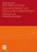 Partnerschaften zwischen Nichtregierungsorganisationen und Unternehmen – Eine Innenbetrachtung