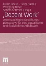 """""""Decent Work"""" als Leitidee im Werk von Eva Senghaas-Knobloch"""