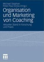 Coaching aus wirtschaftswissenschaftlicher Sicht – Ergebnisse der Marburger Coaching Studie 2009