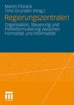 Regierungszentralen im Kontext des formalen und informellen Regierens