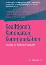 Koalitionen, Kandidaten, Kommunikation Die (un)gewöhnliche Bundestagswahl vom 27. September 2009