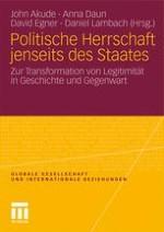 Legitimität und Funktionsweise politischer Herrschaft im synchronen und diachronen Vergleich