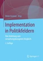 Der Ansatz der politikfeldbezogenen Verwaltungsanalyse