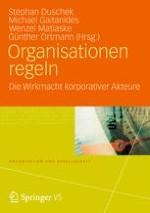 Einleitung: Macht, die aus Organisationen kommt