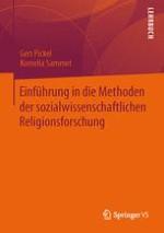 Methoden der Religionsforschung und der Religionssoziologie