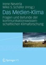 """Einleitung: Der Klimawandel und das """"Medien-Klima"""""""