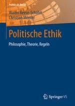 Einleitung: Wozu politische Ethik?