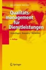 Bedeutung des Qualitätsmanagements für Dienstleistungsunternehmen