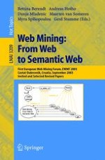 A Roadmap for Web Mining: From Web to Semantic Web