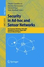 New Research Challenges for the Security of Ad Hoc and Sensor Networks