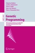 An Algorithmic Chemistry for Genetic Programming