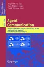 Agent Communication and Institutional Reality