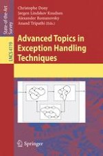 Bound Exceptions in Object-Oriented Programming