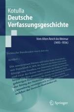 Zur Grundkonzeption der hiesigen deutschen Verfassungsgeschichte