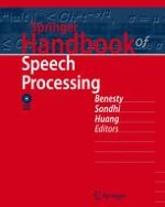Introduction to Speech Processing