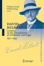 Lectures on the Principles of Mathematics