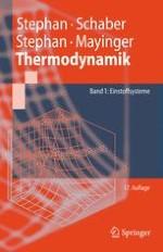 Gegenstand und Grundbegriffe der Thermodynamik