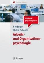 Selbstverständnis, Gegenstände und Aufgaben der Arbeits- und Organisationspsychologie