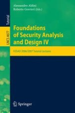 Security Protocols: Principles and Calculi
