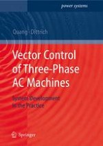 Principles of vector orientation and vector orientated control structures for systems using three-phase AC machines