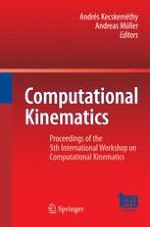 Kinematic analysis of a spatial four-wire driven parallel crane without constraining mechanism