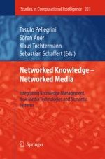 Networked Knowledge - Networked Media: - Bringing the Pieces Together