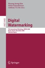A Robust Watermarking Scheme for H.264