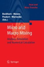 The Variance as Measured Variable for the Evaluation of a Mixing Process or for the Comparison of Mixtures and Mixers