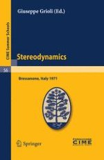 Particular Solutions in Stereodynamics