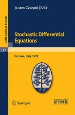Stochastic Processes and Stochastic Differential Equations