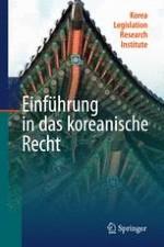 Geschichtliche Entwicklungen und Charakteristika des koreanischen Rechts
