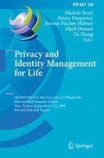 Lifelong Privacy: Privacy and Identity Management for Life