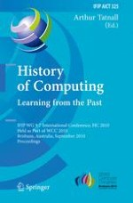 Connections in the History of Australian Computing