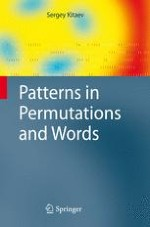What is a pattern in a permutation or a word?