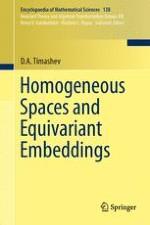 Algebraic Homogeneous Spaces